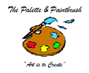 Palette and Paintbrush - logo2